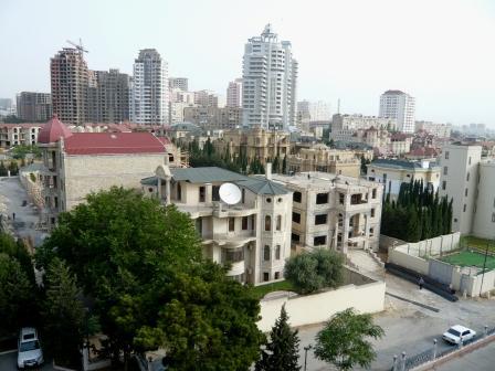 Baku, eine schnell wachsende Stadt