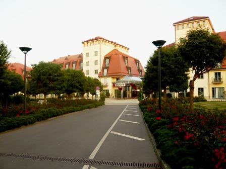 das Arosa Hotel am Scharmützelsee bei Bad Saarow