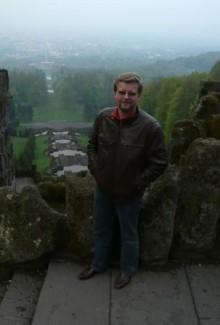 Blick auf Kassel vom Herkules Denkmal