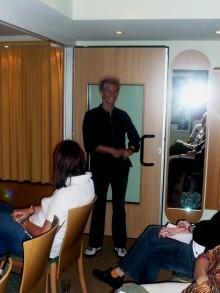 Heike Erhardt während ihres engagierten Vortrages