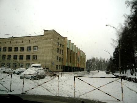 das Novosibirsker Klinikum