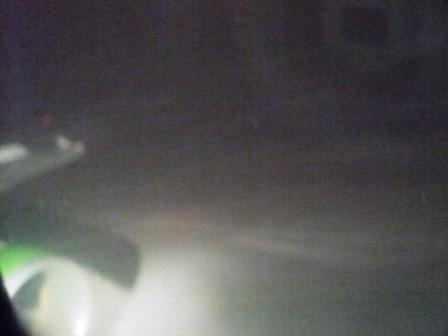 riskante Landung im Schneetreiben in Novosibirsk