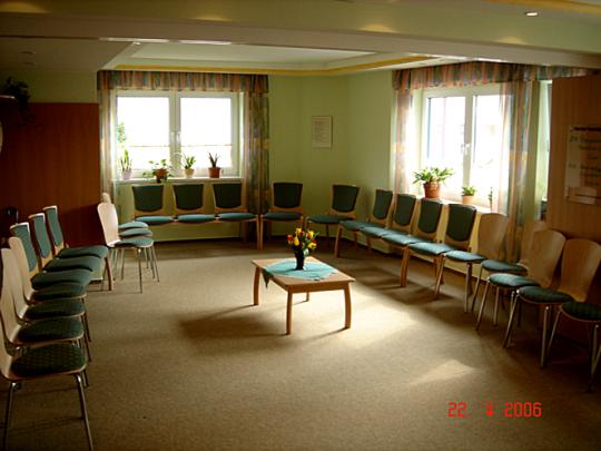 unser großer Seminarraum