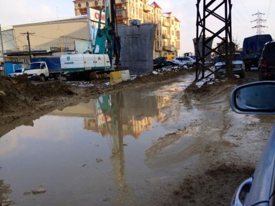 Bakus Nebenstraßen gleichen eher den spreewälder Wasserwegen
